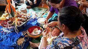 Cérémonie du baci au Laos