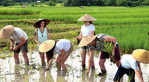 Laos famille