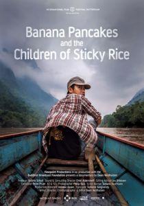Affiche banana pancakes